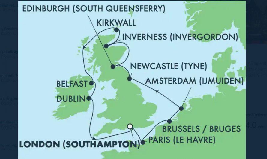 Schottland, Irland – Oktober 2021