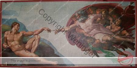 Die Erschaffung des Adam