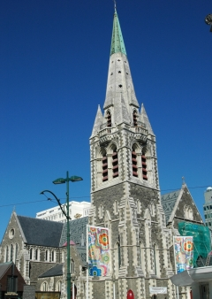 Neuseeland-Christchurch Kathedrale