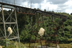 Neuseeland - Makatote Railway Viadukt