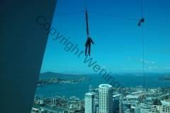 Neuseeland - Skyjump vom Auckland Tower