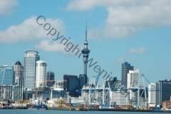 Neuseeland - Skyline von Auckland