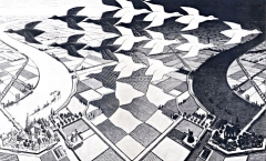 MC Escher Day&Night