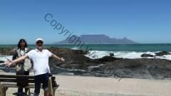 Südafrika Bloubergstrand